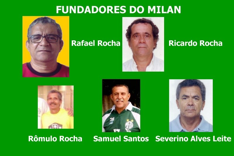 FUNDADORES DO MILAN FUTSAL DO RECIFE