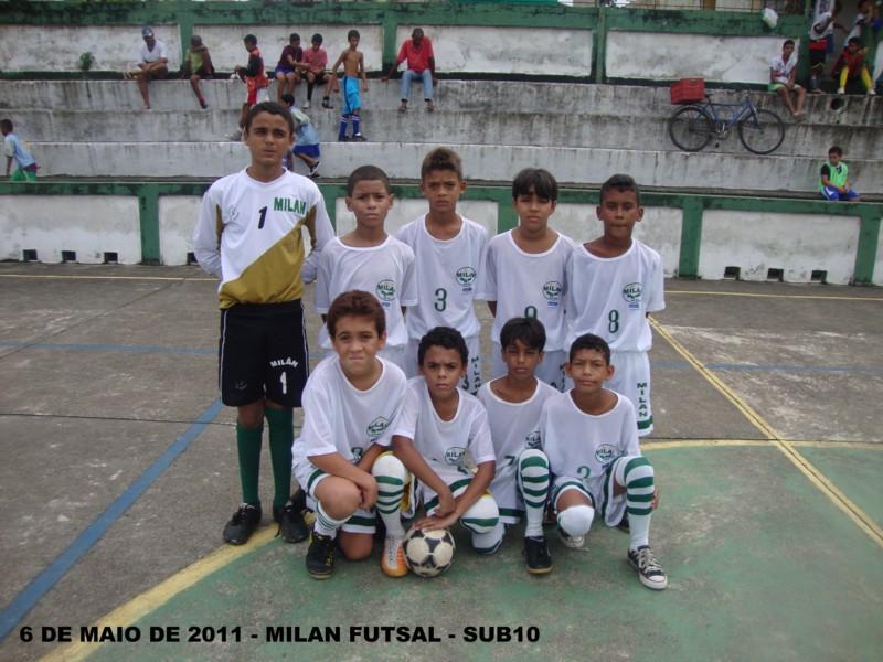 MILAN FUTSAL 6 DE MAIO DE 2011 - SUB 10
