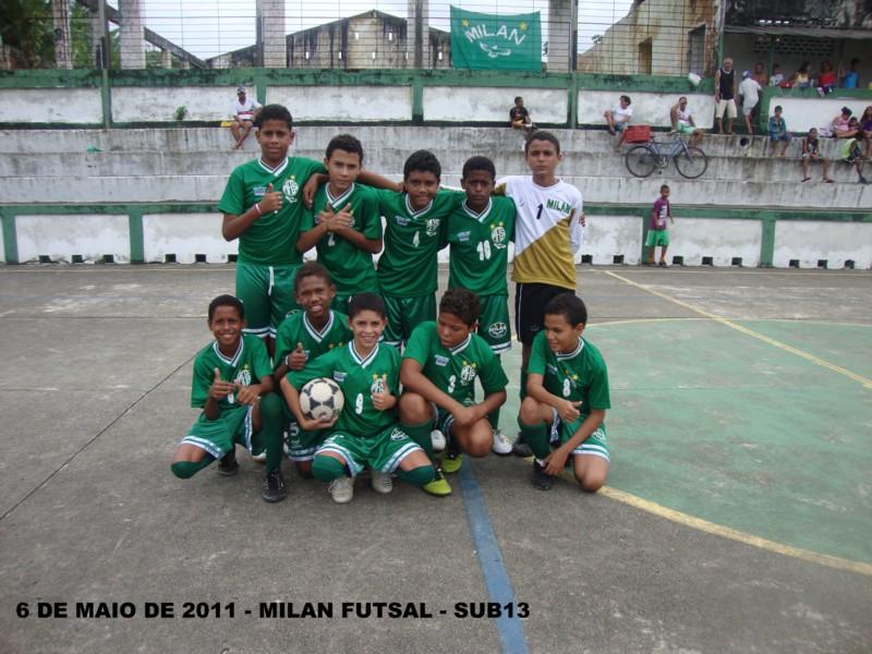 MILAN FUTSAL 6 DE MAIO DE 2011 - SUB 13